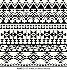 Navajo Pattern Awesome Clipart Of Seamless Black Navajo Pattern K48 Search Clip Art