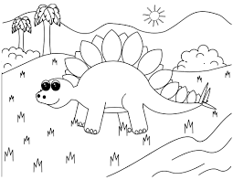 Small Picture Dinosaur Coloring Pages 2 Coloring Kids