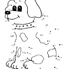 Dazzling Ideas Connect The Dots Coloring Pages Dot To Worksheets