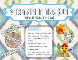 best a raisin in the sun images raisin the sun a raisin in the sun activities bundle