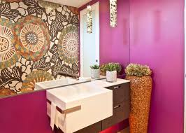 modern funky pink bathroom. 10 Paint Color Ideas For Small Bathrooms | DIY Network Blog: Made + Remade Modern Funky Pink Bathroom