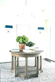 grand foyer round table ideas interesting tables with best tab
