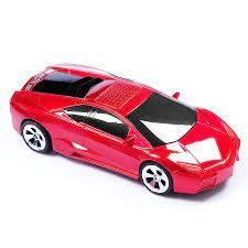 L B araba şekli hoparlör USB TF kart Stereo FM radyo araba modeli  hoparlörler USB MP3 müzik çalar bas çocuk hediyeler ses kutusu PC telefon  kılıfı|sound box|sound box for pccar shape speaker -