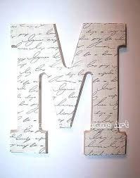 wooden letters design gift ideas painting