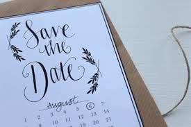 Print Save The Date Cards Free Save The Date Printable Love Paper Crane