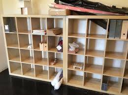 ikea expedit wooden 4x4 square cube shelving storage units for home office 1 of 1free