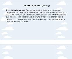tips for writing a personal narrative ppt video online  narrative essay setting