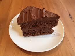 chocolate fudge cake slice. Modren Chocolate Easy Chocolate Fudge Cake Slice On A Plate Throughout Slice L