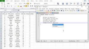 data input sql tutorial 1 create database table data input with insert