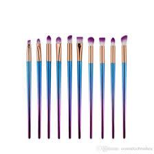 concealer makeup plate uk mybasy 10pcs set makeup brush rainbow makeup brush set plating tools