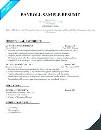 Payroll Resume Adorable Education Specialist Resume Examples With Sample Benefits Specialist