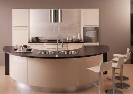 Modern Curved Kitchen Island 16 Divine Designs With For Design