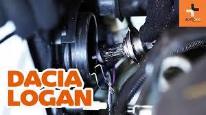 Hoe Een Lamp Van De Koplamp Vervangen Op Een Dacia Logan 1 Handleiding Autodoc