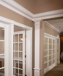 hanover crown molding installed in the house