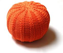Shop for knit pouf on Etsy, the place to express your creativity through  the buying and selling of handmade and vintage goods.