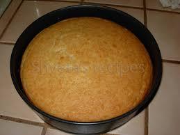 Eggless Sponge Cake Shvetas Recipes