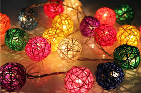 Decorative String Balls Amazing Decorative Ball Lights Impressive Outdoor Ball Lights Lighting And