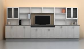 after the re design this wall has plenty of storage space and features a
