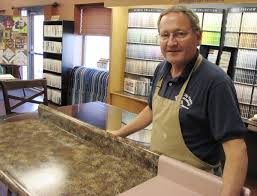 paint creates granite look at a fraction of the cost