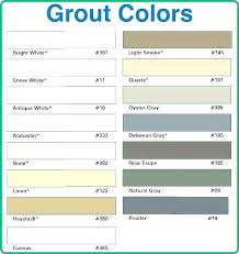 Laticrete Spectralock Pro Grout Color Chart Laticrete 1500 Sanded Grout Color Chart Best Picture Of
