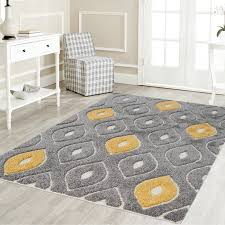 attractive best adorable yellow and grey area rugs ivy bronx grayyellow area rug wayfair with regard