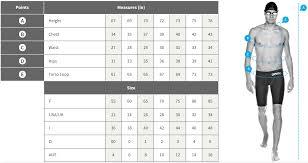 Speedo Size Chart Usa Sizing Charts