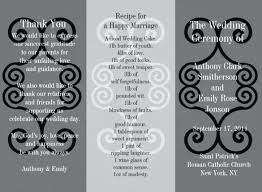 Sample Wedding Brochure | Nfcnbarroom.com