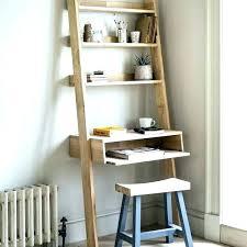 leaning desk wide ladder shelf leaning desk bookcase ladder shelf wide crate and barrel bookshelf sawyer