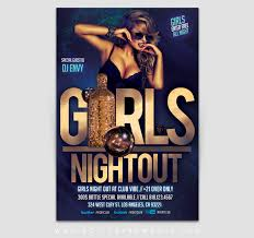 Girls Night Out Club Flyer Template | Active Ink Media