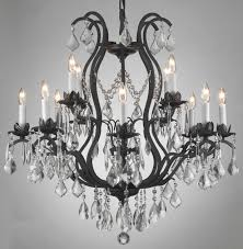 wrought iron chandeliers large foyer or entryway chandelier h51