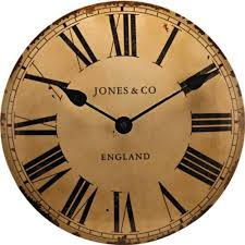 HSB Bundle Jones by Newgate Classic Curved Convex Wall Clock ...
