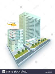 Hospital Heliport Design Helipad Cut Out Stock Images Pictures Alamy