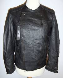 lot 78 jack s mens black leather biker jacket size 46 soft nappa leather bnwt