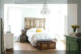 farmhouse style bed master bedroom ideas bedding rustic wall decor lamps room