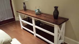 diy sofa table ana white. Home Design, Beautiful Ana White Rustic X Console Table The Beginning Diy  Projects With Diy Sofa Table Ana White
