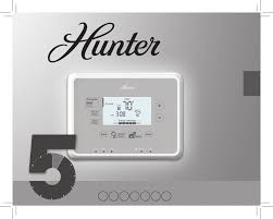 hunter fan thermostat 44377 user guide manualsonline com owner s manual model 44372 44377
