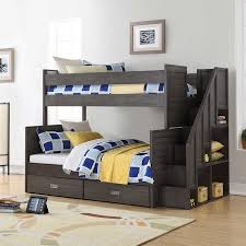Caramia Kids Dylan Twin over Full Bunk Bed