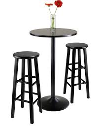 6 contemporary black pub table sets cute furniture with regard to modern residence round wood pub table decor