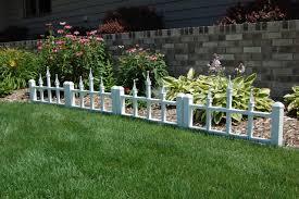 elegant flower bed fence ideas 1 nice garden edging