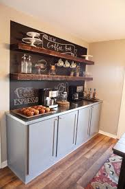 coffee bar for office. Large Basement Coffee Station Complete With Chalkboard And Cabinetry Bar For Office A