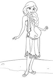 Disney Princess Jasmine Coloring Pages Printable Coloring Page For