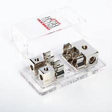 amp fuse block 3 4 gauge in 2 8 gauge out agu fuse block platinum dual power