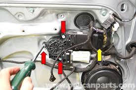 volkswagen golf gti mk iv door lock replacement  the motor on our window regulator was not functioning so we had no way to raise