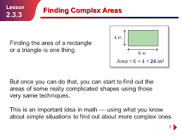 3 3 finding complex