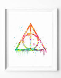 Harry Potter Always Quote Enchanting Harry Potter Always Quote Art Print Poster Watercolor Painting Wall