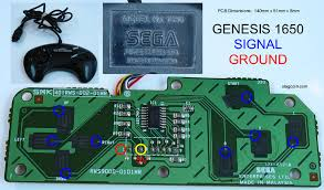 joystick controller pcb and wiring gamecube dol 003