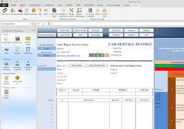 auto body repair invoice 035 auto repair invoice templates template ideas service car