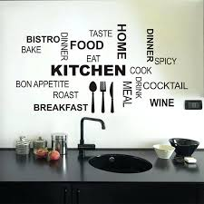 diy wall decor for kitchen new design creative wall stickers kitchen decal home decor restaurant decoration