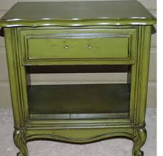painted green furniture. How To Apply Glaze Furniture Painted Green N