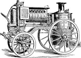 Fig 14 merryweather's steam fire engine